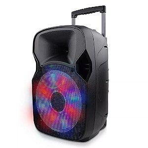Caixa de Som Amplificadora Bluetooth Multifuncional Multilaser - SP219