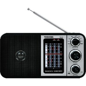 Rádio Portátil Semp Toshiba 8 Faixas Multibanda TR849 - Semp Toshiba