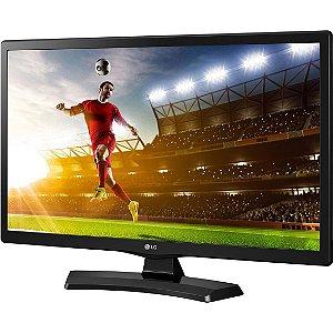 """TV LED 19.5"""" LG 20MT49DF-PS HD com 1 USB 1 HDMI Time Machine Game Mode Função Monitor e 83Hz"""