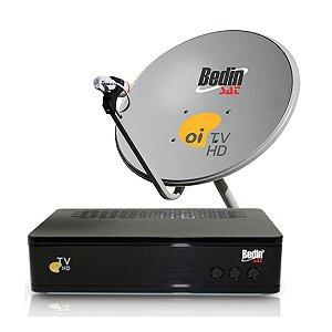 Kit Oi Tv HD Livre 60 com 1 Decoder - Monoponto