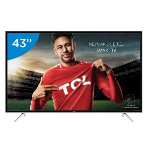 "Smart TV LED 43"" Android TCL L43S6500FS Full HD"