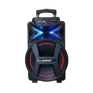 Caixa Amplificadora Amvox ACA-292, Bluetooth, USB, Rádio FM, 290W RMS