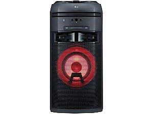 Mini System Torre LG XBOOM OK55 Bluetooth USB MP3 FM Karaokê - 500W