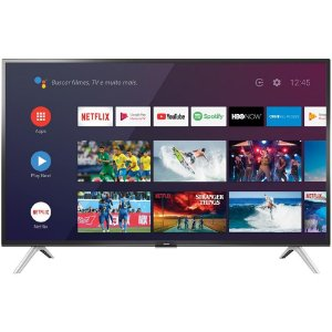 "Smart TV Android LED 32"" Semp 32S5300 Bluetooth 2 HDMI 1 USB Controle Remoto com Comando de Voz"