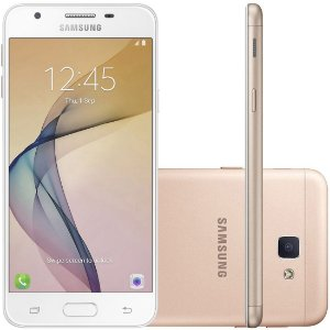 "Smartphone Samsung Galaxy J5 Prime 32GB - Dual Chip 4G Câm. 13MP + Selfie 5MP Tela 5"" HD"