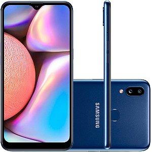 "Smartphone Samsung Galaxy A10s 32GB Dual Chip Android 9.0 Tela 6.2"" Octa-Core 4G Câmera 13MP+2MP"