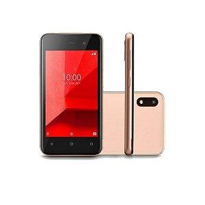 Smartphone Multilaser E Lite 3G 16GB Tela 4.0 Quad Core Câmera traseira 5MP + 5MP frontal Preto