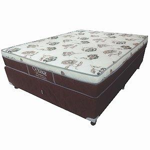 Conjunto Box Casal Ortolar Premium Café 68 x 138 x 188 cm