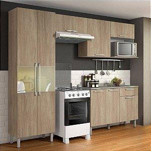 Cozinha Compacta 4 Peças com Balcão e Paneleiro Itatiaia Star Aveiro