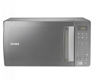 Micro-ondas Consul 32 Litros cor Inox Espelhado com Função Descongelar
