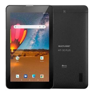 Tablet M7 3G Plus 16GB Preto Multilaser NB304