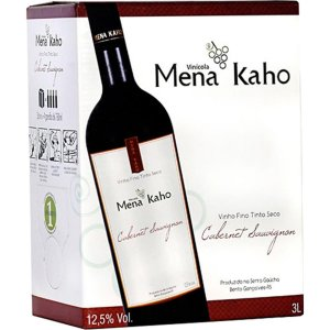 Mena Kaho Cabernet Sauvignon Bag in Box 3L