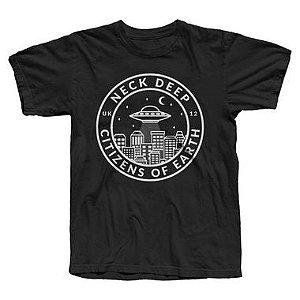 Neck Deep - Citizens of Earth - Camiseta