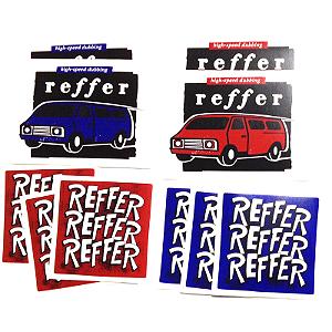 Adesivo Reffer (pacote dom 10 adesivos)