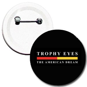Botton Trophy Eyes, The American Dream - preto