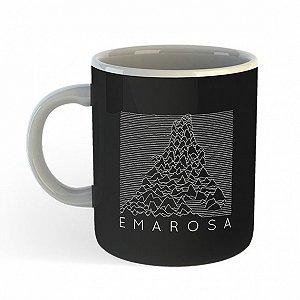 Caneca Emarosa, Fox Lines - Preta
