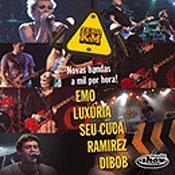 CD coletânea Multishow Zero KM - Ramirez, Seu Cuca, Emo, Dibob, Luxúria
