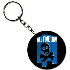 Chaveiro All Time Low, Blue Skull