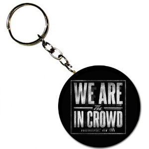 Chaveiro We Are The In Crowd, Logo - Preto