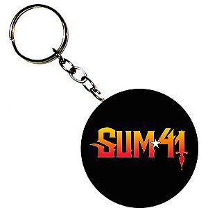 Chaveiro Sum 41