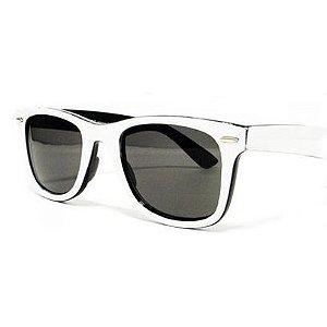 Óculos  Retro -  Branco e Preto