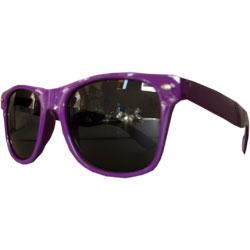Óculos Retro -  Roxo e Preto