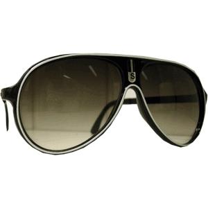 Óculos Sport - Preto - Borda Branca