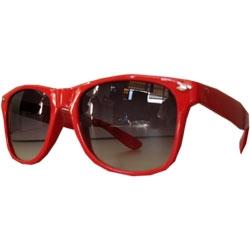 Óculos Wayfarer -  Vermelho