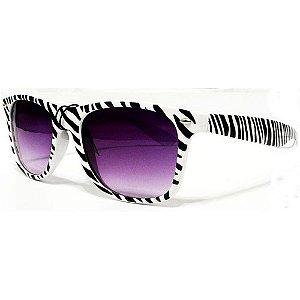 Óculos Retro  - Zebra