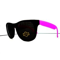 Óculos Retro  Light -  Preto e Rosa