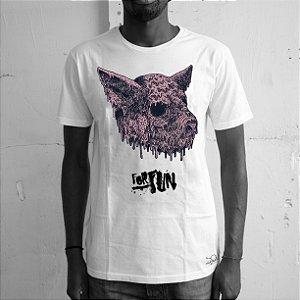 Camiseta Forfun, Porco
