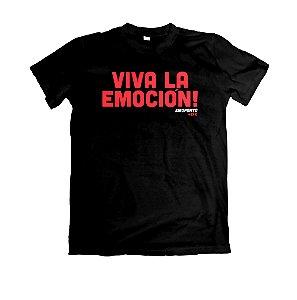 Camiseta Emo., Viva La Emocion! (Emoponto)