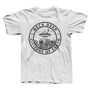 Camiseta Neck Deep, Citizens of Earth