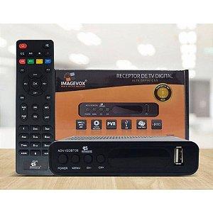 Conversor Receptor de Tv Digital Imagevox Full Hd Adv-ISDBT06