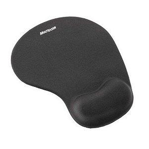 Mouse Pad ergonômico Preto Multilaser