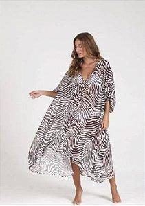 Kaftan Longa Zebra