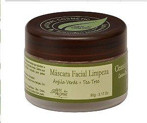 Máscara  Argila Verde  90g  - Arte dos Aromas