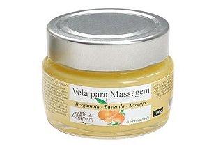 Vela Massagem Revitalizante 100g  - Arte dos Aromas
