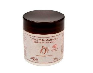Creme para Massagem Orgânico 500gr   - Arte dos Aromas