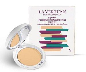 Pó Compacto Tonalizante Fps 50 – La Vertuan – Bio Vegan - CLARO