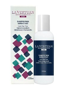 Shampoo para Barba e Face 120mL – La Vertuan – Bio Vergan
