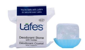 Desodorante Natural Cristal Mini Stick 60g - Lafe's
