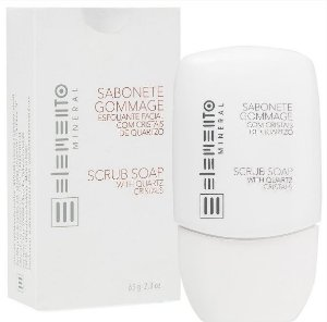 Sabonete Gommage com Cristais de Quartzo 65g – Elemento Mineral