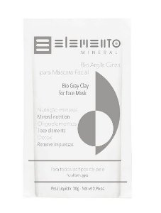 Bio Argila Cinza 30g – Elemento Mineral