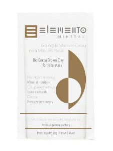 Bio Argila Marrom Cacau 30g – Elemento Mineral