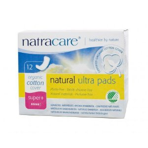 Absorvente externo Natracare SUPER PLUS sem Abas 12 unid. - Natracare