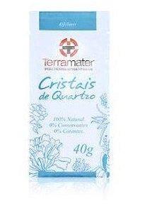 Cristais de Quartzo para Esfoliação  40g - Terramater