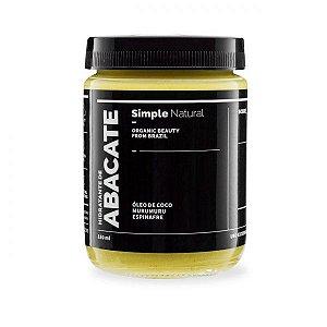 Hidratante de Abacate - Simple Organic