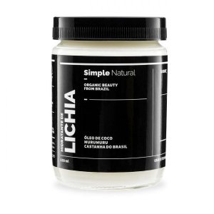 Hidratante de Lichia - Simple Organic