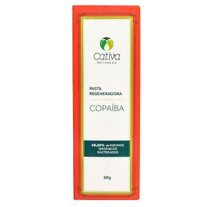 Pasta Regeneradora Copaíba Orgânica Natural Vegana 60g - Cativa Natureza